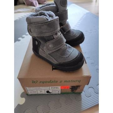 Zimowe buty RenBut z membraną r.21 jak nowe