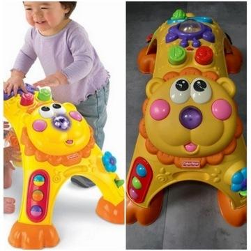 Edukacyjna zabawka Fisher Price Grający Lew