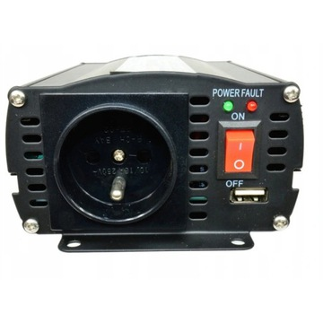 Przetwornica samochodowa 24V IPS 500W 350W