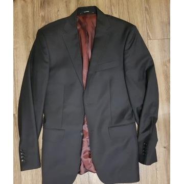 garnitur męski czarny + bordowy, Vistula Vesari