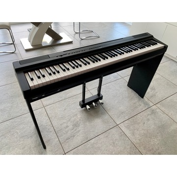 Pianino Cyfrowe Yamaha P-125 BK CAŁY KOMPLET