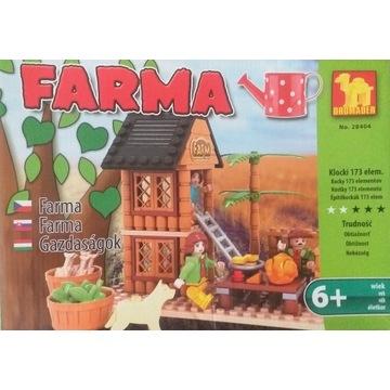Klocki Dromader FARMA Wieża 173 elementy