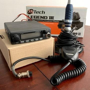 CB Radio MTech Legend III identyczne jak PRESIDENT