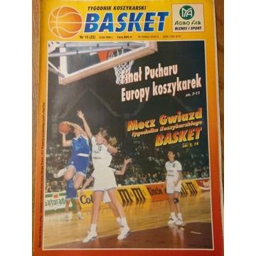 Tygodnik Koszykarski BASKET nr 15 (25) 12.04.1994