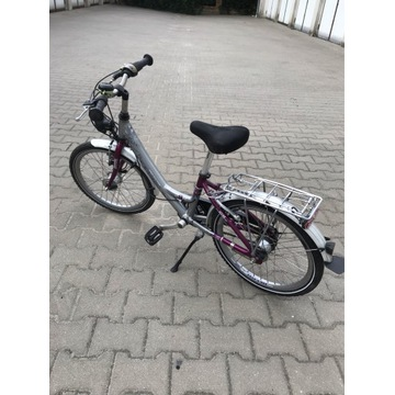 Rower niemiecki młodzieżowy 20 cali 7 biegów