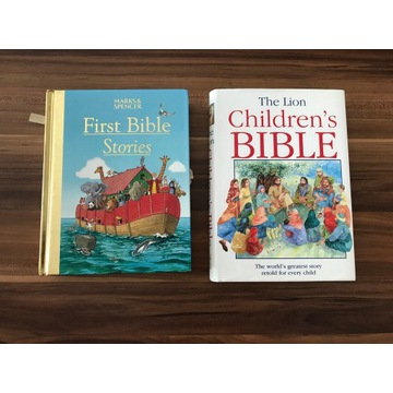 English Books Bible Stories 2 książki