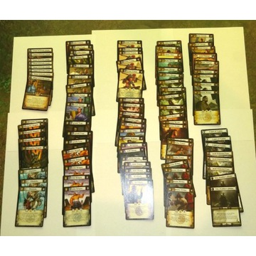 Legenda 5 Kręgów CCG - ogromna kolekcja kart - L5K