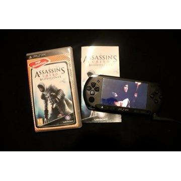 Sony PSP konsola + gra assassin's creed bloodlines