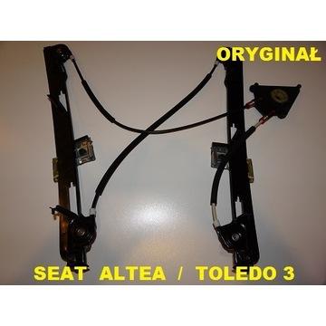 SEAT TOLEDO 3 ALTEA XL PODNOŚNIK SZYBY PRZÓD PRAWY