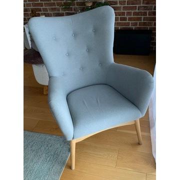 Fotel dixie szary