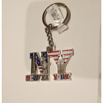 Brelok, zawieszka do kluczy Nowy York