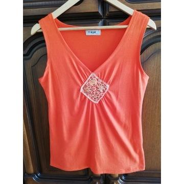 Damska pomarańczowa koszulka firmy W@W rozmiar XXL