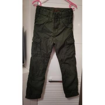 Spodnie bojówki roz.122