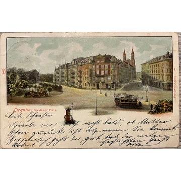 Legnica, Liegnitz, Breslauer Platz, 1900 rok