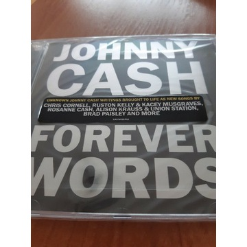 JOHNNY CASH: FOREVER WORDS (CD)