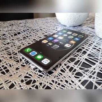 Apple iPhone X 64GB Silver bez blokad / STAN BDB!!