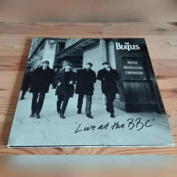 The Beatles – live at the BBC 3LP (NM)
