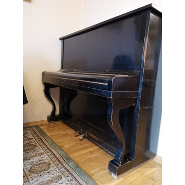 Pianino Olbrich Glatz 1882