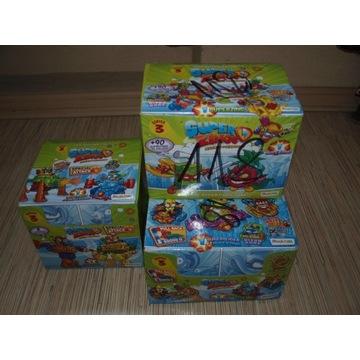 Zestaw 3 nowych boxów Super Zings seria 3