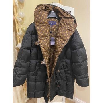Płaszcz damski puchowy zimowy lv louis vuitton 38