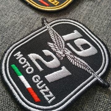Moto Guzzi naszywki zestaw  100 lat marki