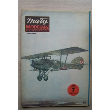Mały Modelarz 7/1984  Samolot POTEZ XXV A2