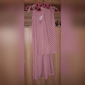 Sukienki dla mamy i córki na lato - 100% wiskoza
