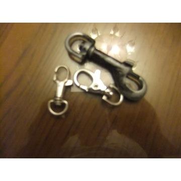 3 karabińczyki do kluczy