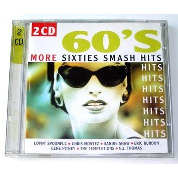 More Sixties Smash Hits LATA 60-te 2xCD IDEAŁ