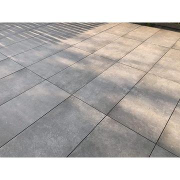 Płyty 2 cm do ogrodu 40x80x20 Montego dust beton