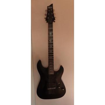 Schecter Demon 6 SBK Gitara Elektryczna super stan
