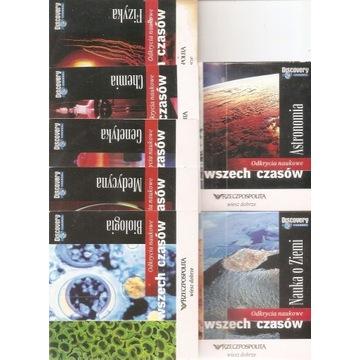 odkrycia naukowe wszech czasów / 7VCD