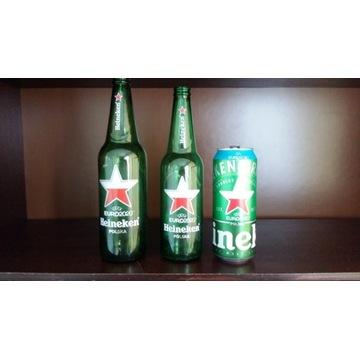 Zestaw Polska EURO 2020 Heineken puszka i butelki