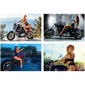 KALENDARZ Ścienny 2021 GIRLS&BIKES Moto Dziewczyny