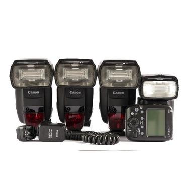 Canon Speedlite 600EX II RT, 430EX III RT, Yongnuo
