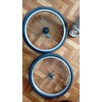 Koła do roweru o średnicy 48 cm. z oponą  .