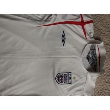 Anglia Oryginalna koszulka reprezentacji