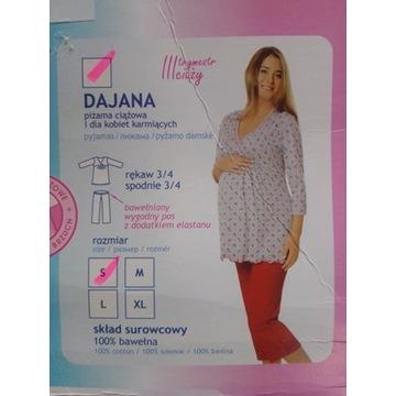 piżama ciążowa i dla kobiet karmiących Dajana S