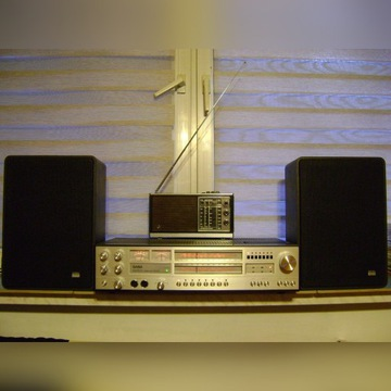 Amplituner saba 9250 + saba ultra hi-fi box-705