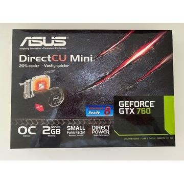 Asus GTX 760 DirectCU Mini 2GB