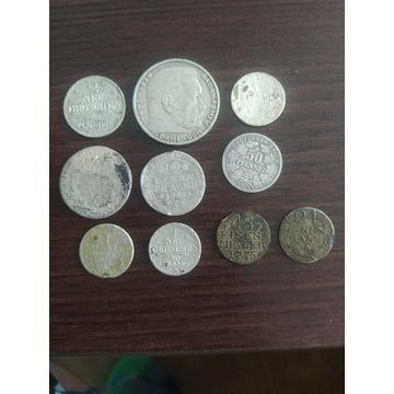 Monety srebrne i medale