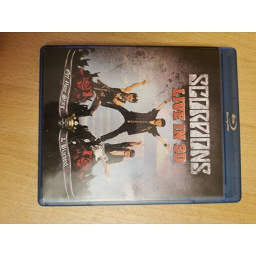 Koncert Scorpions live on 3d bluray