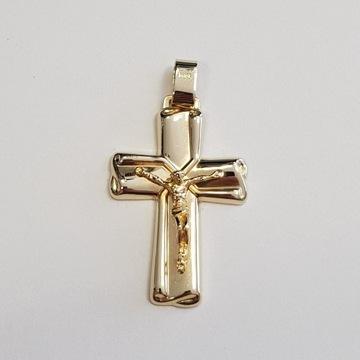 Złoty Krzyż Krzyżyk p. 0.585 (14 K)