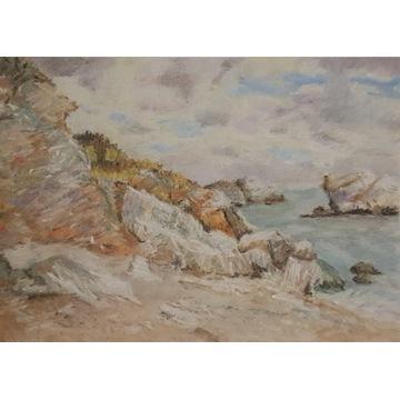 rysunek A3 ręcznie malowany na bloku artystycznym