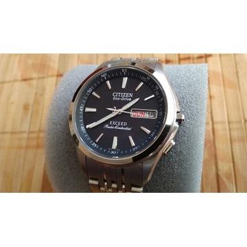 Jak nowy zegarek Citizen Exceed EBG74-2501 szafir