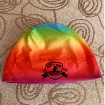 Kolorowa czapka sportowa r.M Jogging
