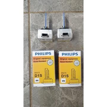 Oryginalne żarniki bi Xenon  Philips D1S