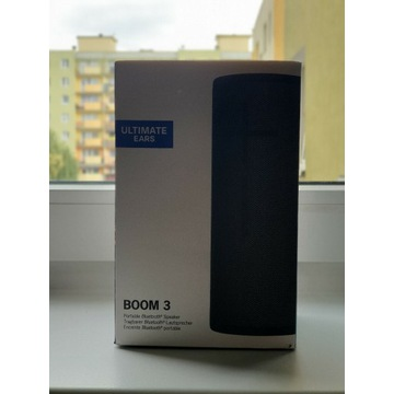 Głośnik bluetooth Logitech BOOM 3 iPhone iPad JBL