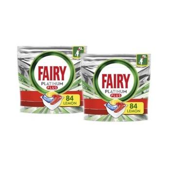 KAPSUŁKI DO ZMYWARKI 164 szt-Fairy Platinum Plus
