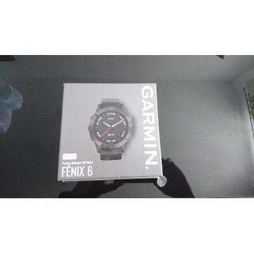 GARMIN Fenix 6 Sapphire Carbon Gray DLC